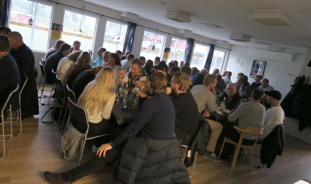 Öppet i Gula Huset före matchen mot Bollnäs