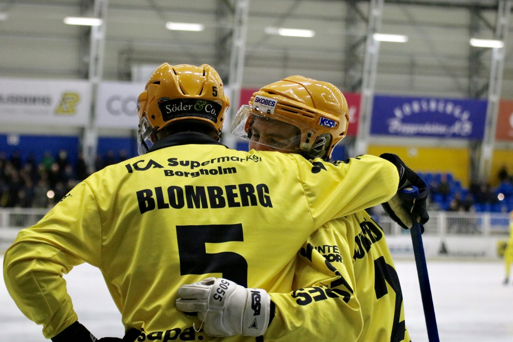 Pontus Blomberg och Simon Lundström