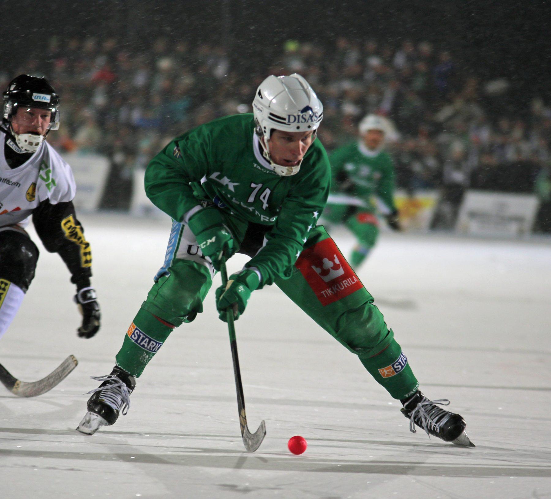 Finska ligans bäste spelare till VBK