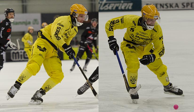 Joakim Andersson och Pontus Blomberg lämnar VBK