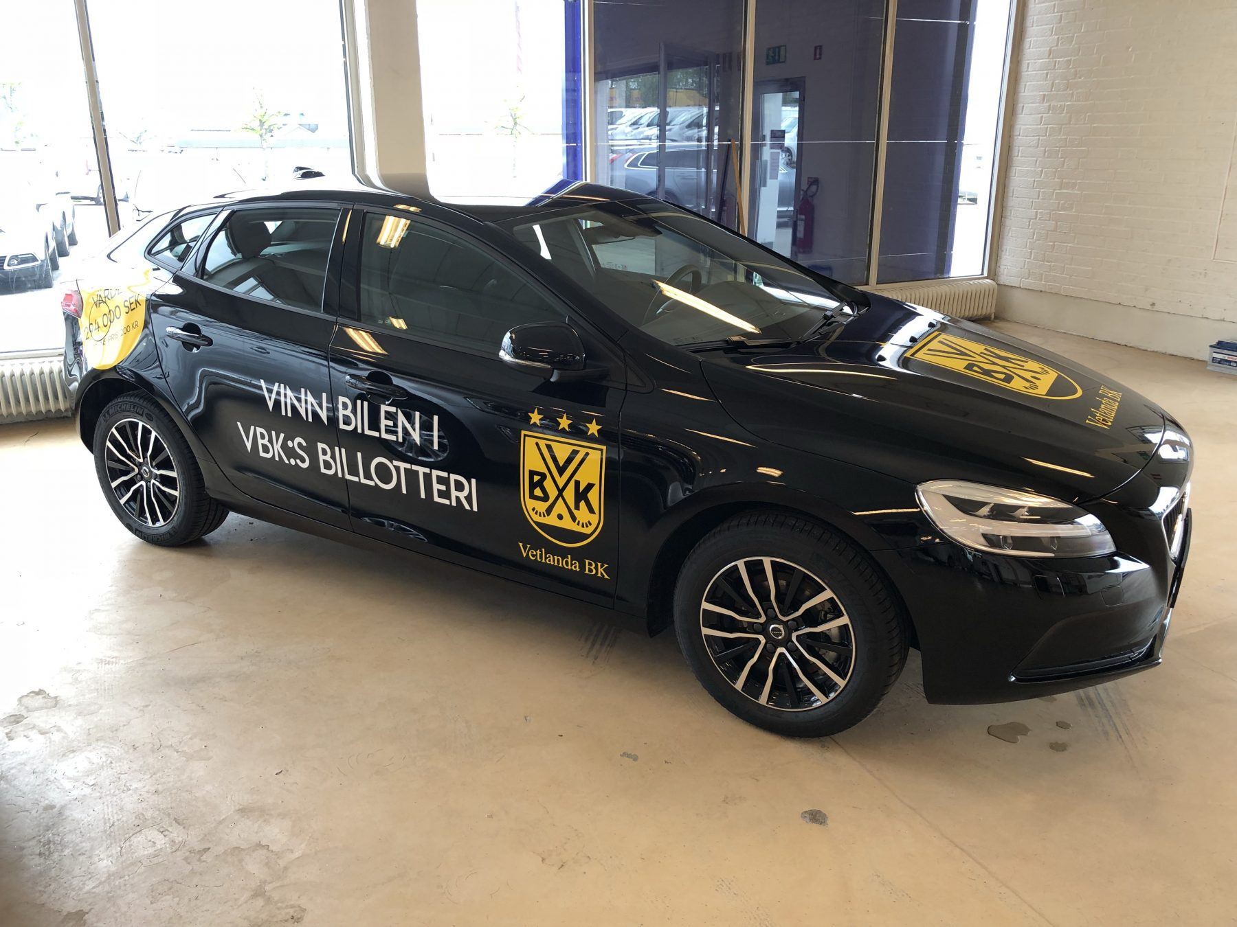 Vinn en ny Volvo V40 i VBK:s Billotteri – försäljningen startar på lördag!