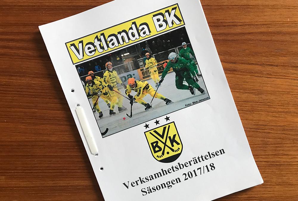 Läs VBK:s verksamhetsberättelse för 2017/18