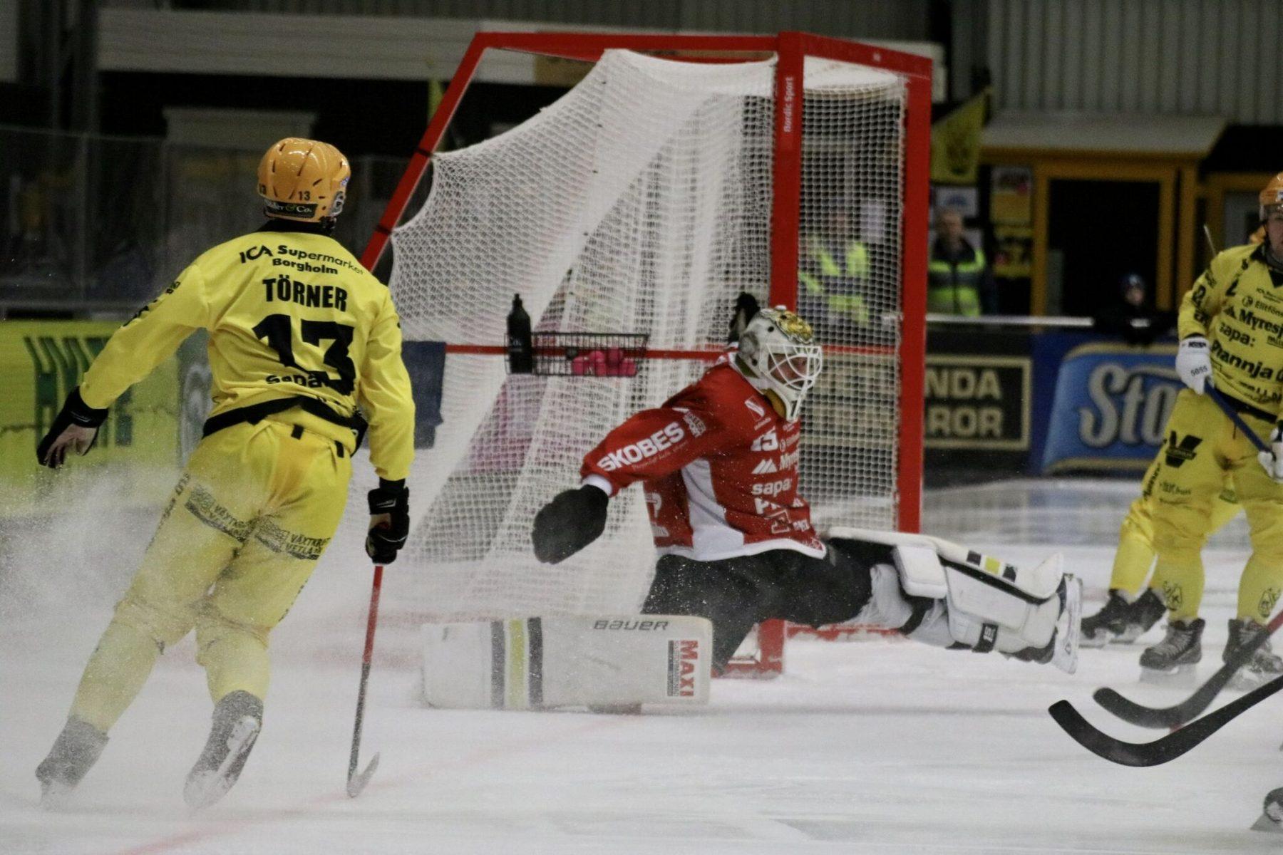 Träningsmatchen mot Vänersborg sänds på Bandypuls