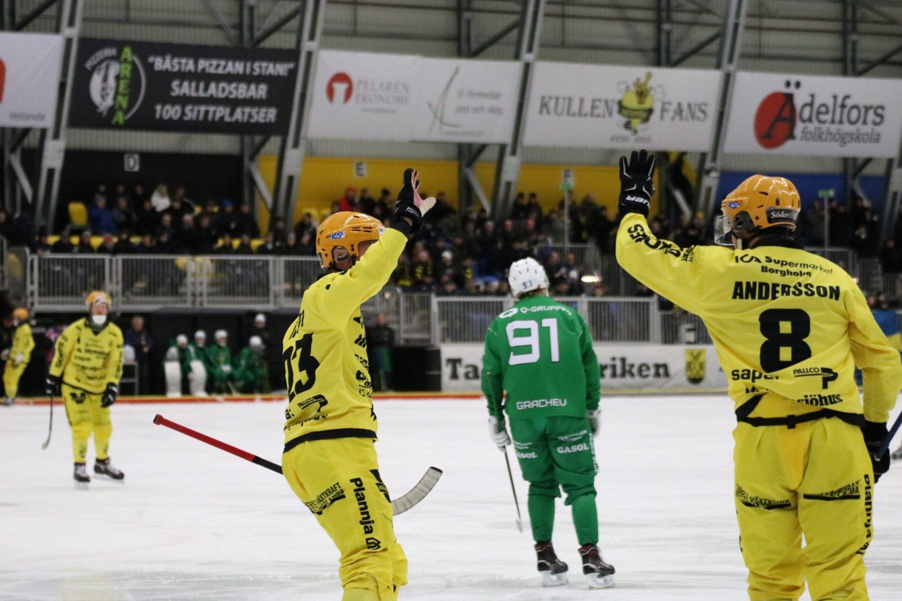Johan Löfstedt och Joakim Andersson