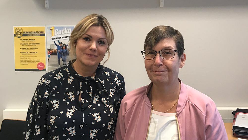 Oksana Suzdaleva och Regina Petersson