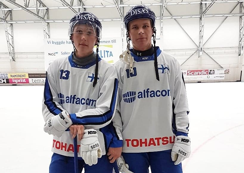 Emil Fedorov och Eetu Peuhkuri