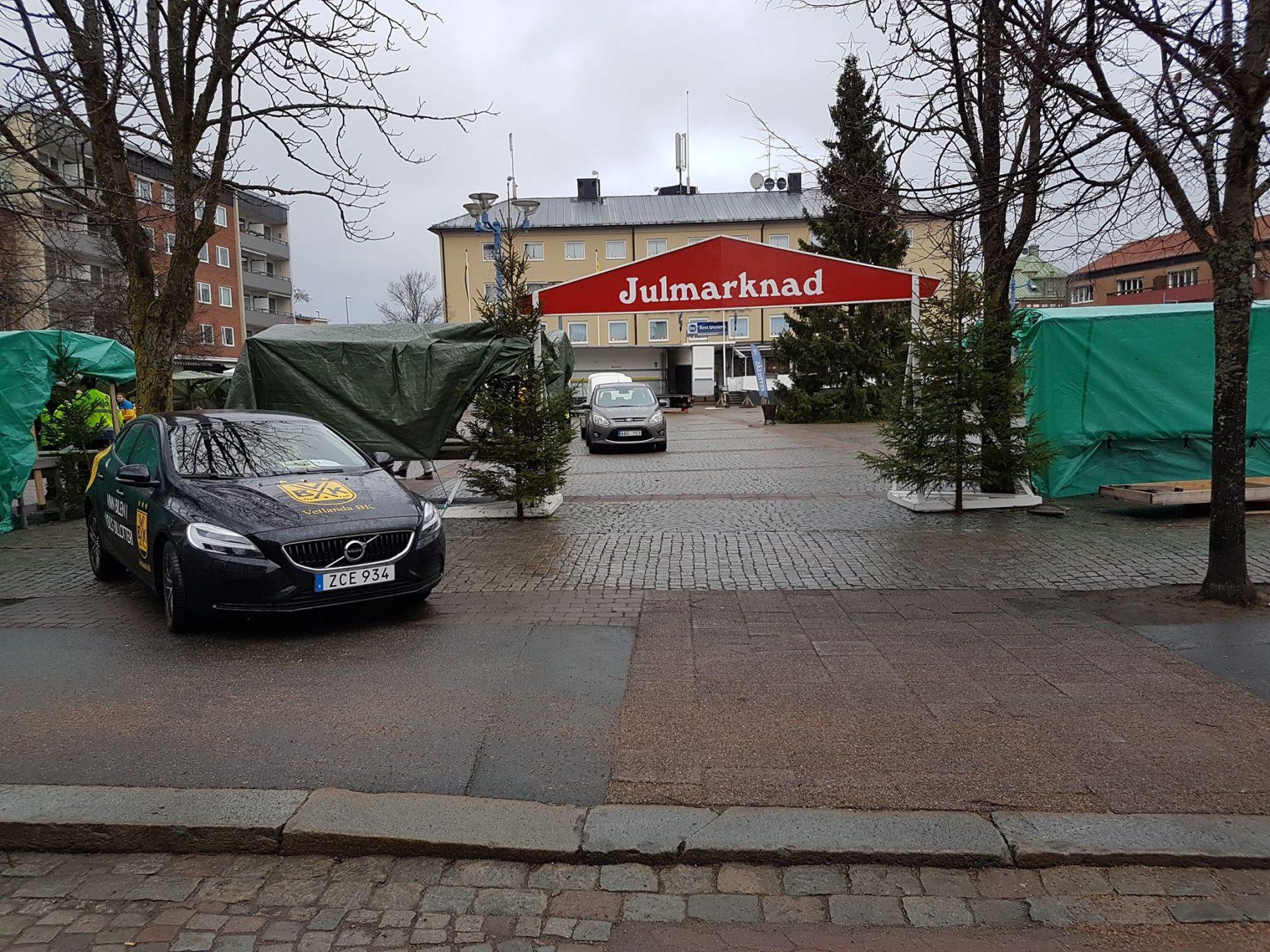Julmarknad Vetlanda