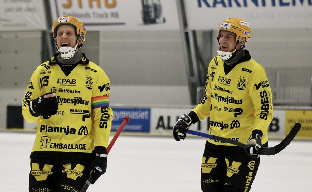 Viktor Törner och VIktor Lindqvist