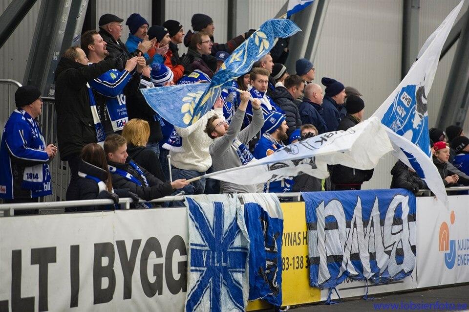 Supportrar Villa Lidköping